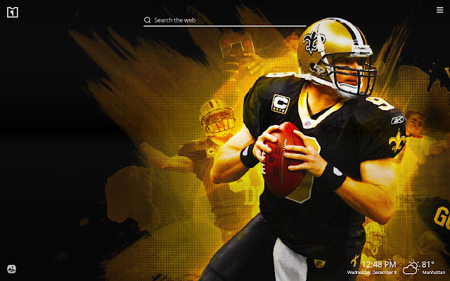 Drew Brees NFL HD Wallpapers New Tab Theme