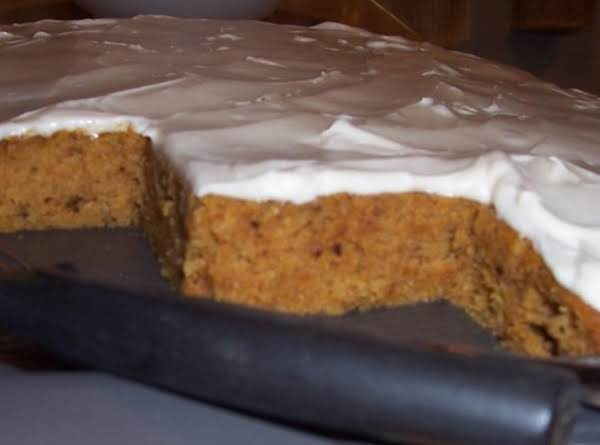 Pumpkin Raisin Bars   Oh So Good ~~~~~ Recipe