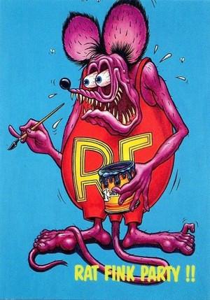 Rat Fink Paint Party presented by Machines et Moteurs.
