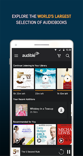 Audiobooks from Audible 2.31.1 gameplay | AndroidFC 1