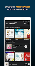 Audiobooks from Audible APK screenshot thumbnail 1