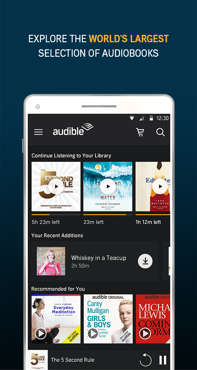 Audiobooks from Audible APK Cracked Free Download   Cracked Android