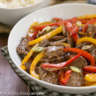 Asian Beef with Peppers #WeekdaySupper.
