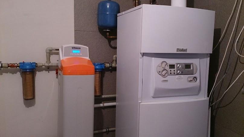 Zmiękczacz wody - instalacja