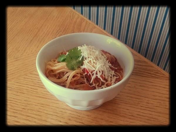 Mexican Chorizo Noodle Bowl Recipe
