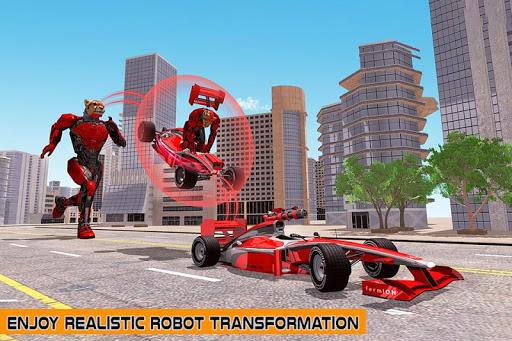 Cheetah Robot Car Transformation Formula Car Robot filehippodl screenshot 6