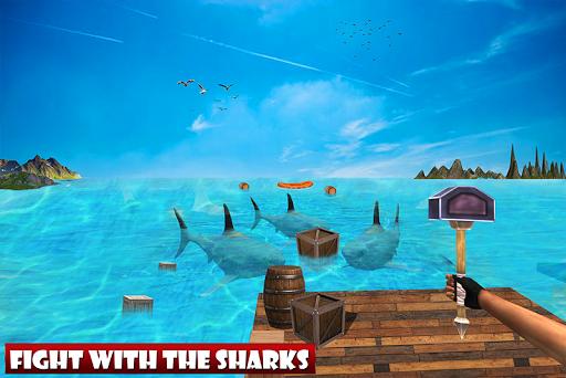 Raft Ocean Craft Survival: Shark Attack 1.0 screenshots 2