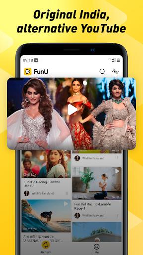 FunU- Indian Short Video App, Best Videos for You 1.0.28 screenshots 2