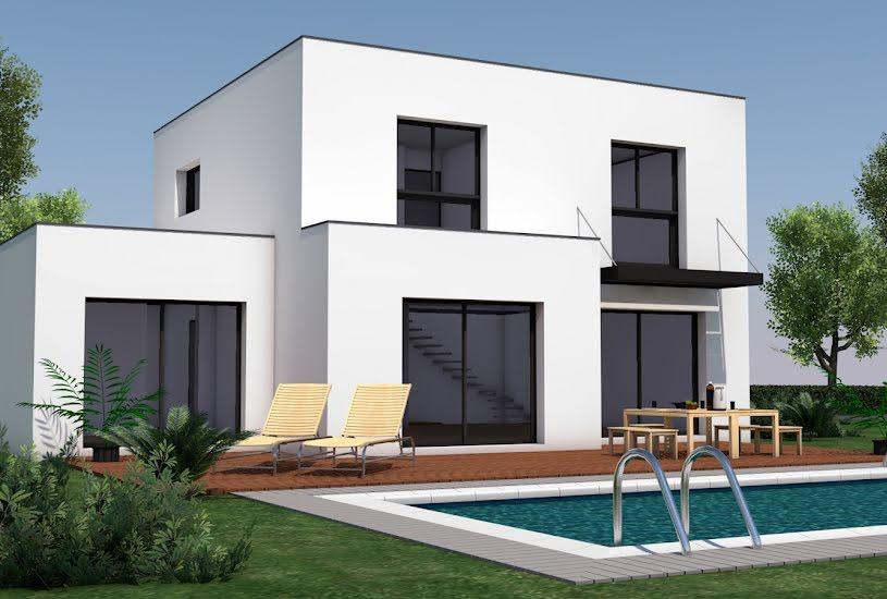 Vente Terrain + Maison - Terrain : 365m² - Maison : 143m² à Saint-Herblon (44150)