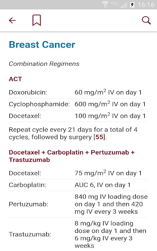 Physicians' Cancer Chemotherapy Drug Manual screenshot 14