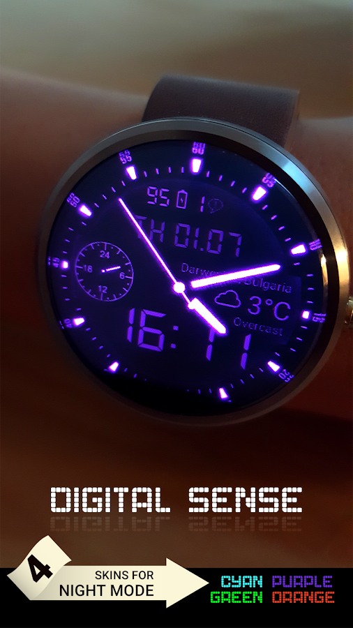 Gear O'Clock: Digital Sense- screenshot