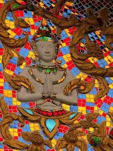 Photo: Huay Xay, świątynia buddyjska / Buddhist temple