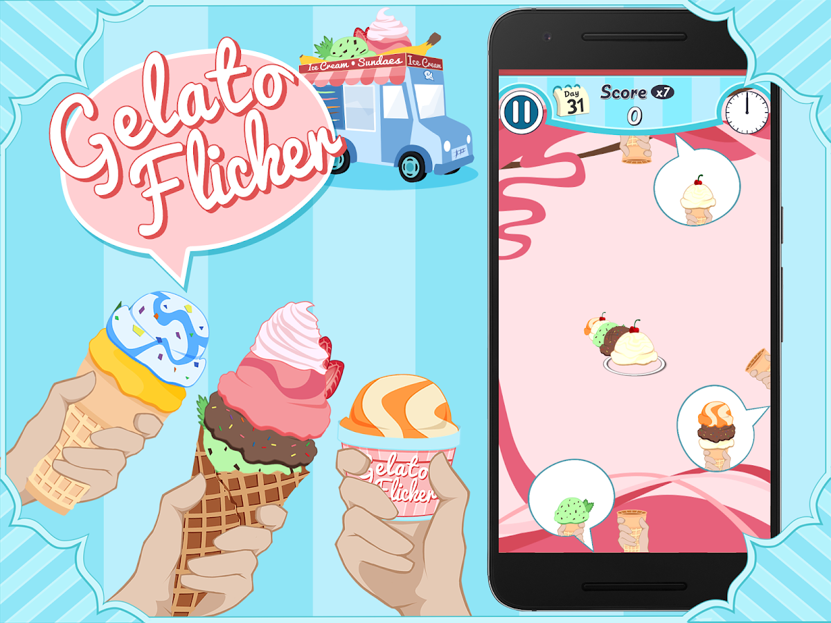 Gelato Flicker- screenshot