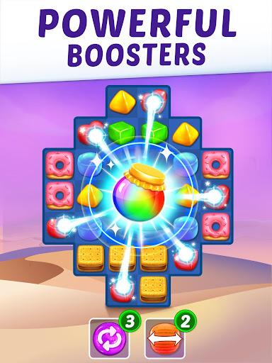 Gummy Paradise - Free Match 3 Puzzle Game  screenshots 12