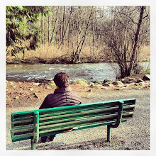 Photo: Getting some fresh air in the Maple Ridge park #intercer #mapleridge #relax #britishcolumbia #canada #park #spring #bench #air #tree #trees #water #river #alee #green #fresh - via Instagram, http://instagr.am/p/WGVcVKJfhO/