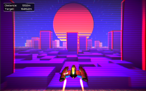 [Download Retro wings: Neon lights in the sky for PC] Screenshot 3