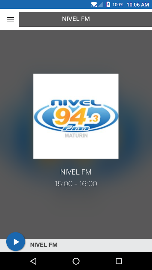 NIVEL FM- screenshot