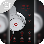 Heart Music Cool Free Theme