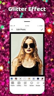 Glitter Effect Camera 2018 - náhled