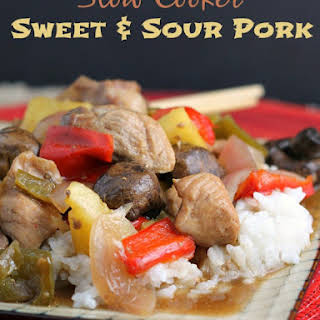 Slow Cooker Sweet and Sour Pork.