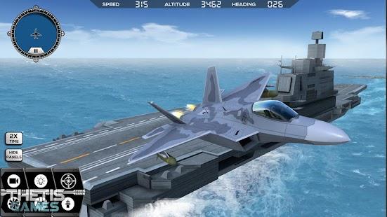 Flight Simulator 2017 FlyWings Free - náhled