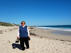 Photo: Sherna at Floreat Beach, WA.