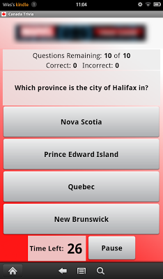 Canada Trivia - screenshot