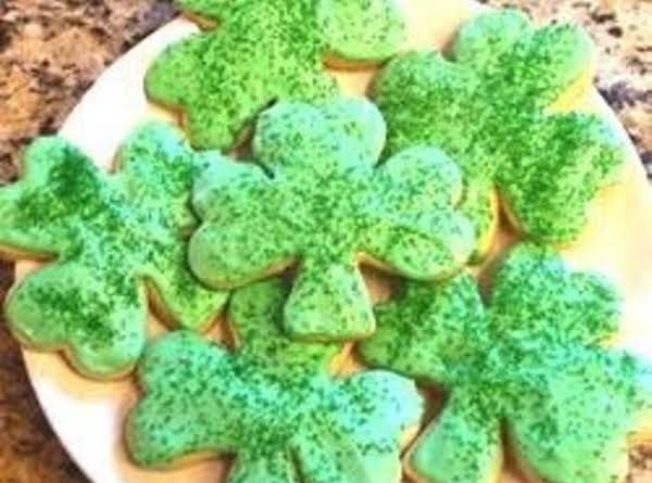 Shamrock Cookies (st. Patrick's Day) Recipe