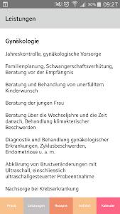 Dr. Ursula Gilke Praxis-App screenshot 1