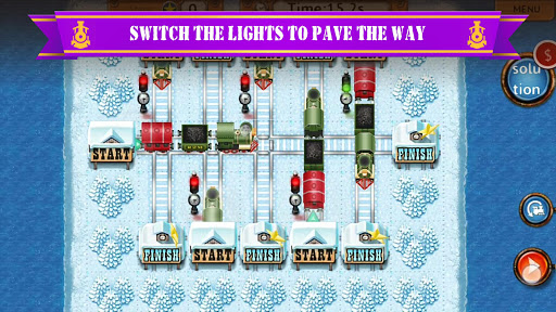 Rail Maze 2 : Train puzzler  screenshots 4
