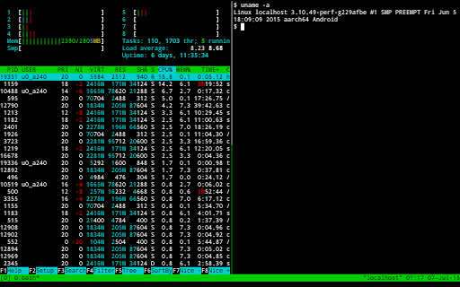 Termux screenshot 3
