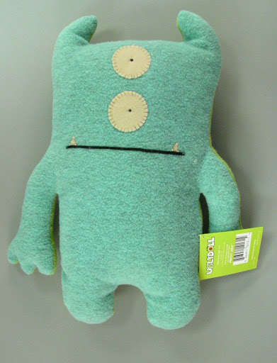 Plush figure:Bop 'N' Beep: Ugly Doll