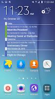 Screenshot of Clean Calendar Widget Pro
