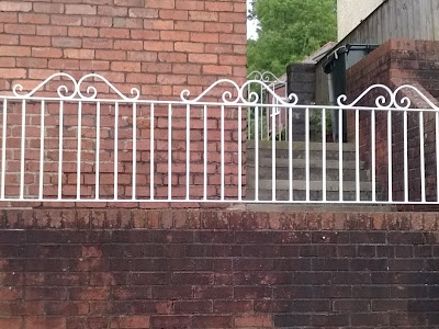 Metal Railings with small Gates