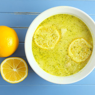 Greek Meyer Lemon Turkey And Orzo Soup