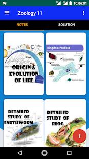 Zoology Class 11 - náhled