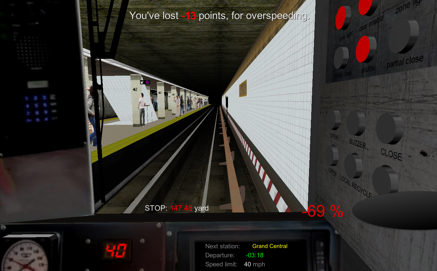 Subway Simulator New York- screenshot