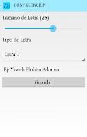 Screenshot of Diccionario Bíblico