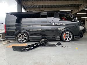 ハイエースバン TRH200Vのカスタム事例画像 BIGBANGさんの2020年09月07日00:43の投稿