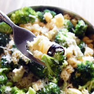 Cold Veggie and Avacado Pasta Salad