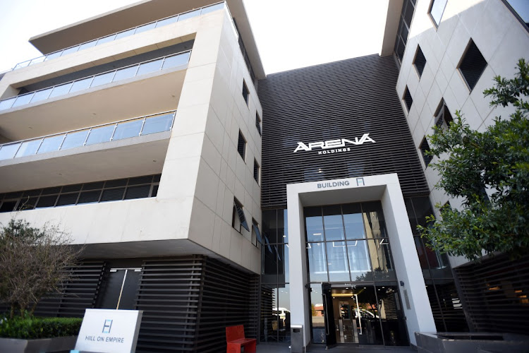 Arena Holdings Building at Parktown in Braamfontein Johannesburg. Picture: Freddy Mavunda