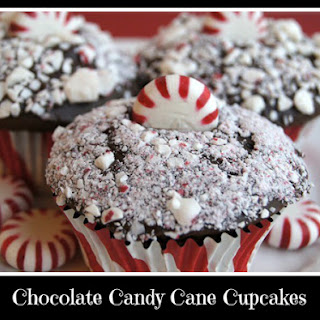 Chocolate Candy Cane Cupcakes Recipes