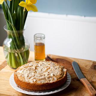 Buttery Honey Almond Cake