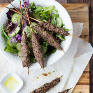 Moroccan-Style Beef Kebabs