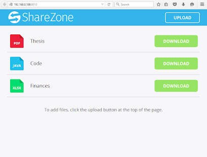 ShareZone- screenshot thumbnail
