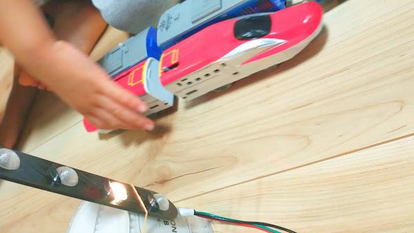 ポキオ Arduino NeoPixel 4灯式信号機