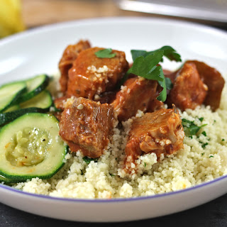Smoky Citrus Pork Stew with Couscous