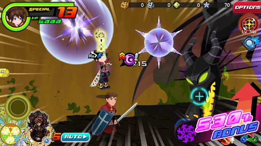 KINGDOM HEARTS Uχ Dark Road screenshot 16
