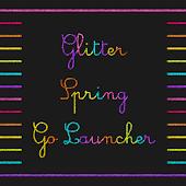 Glitter Spring Go Launcher