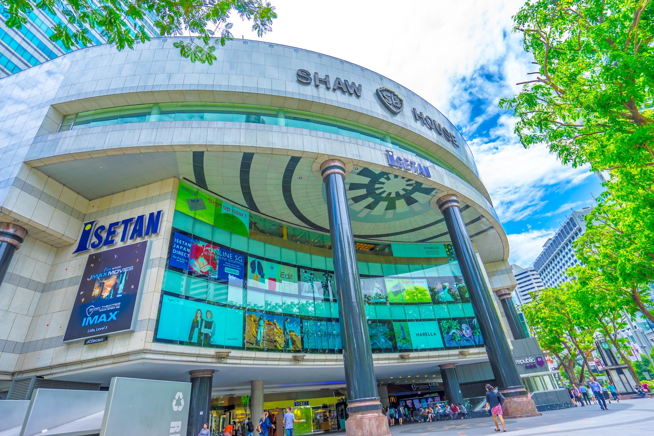Singapore Isetan Scotts